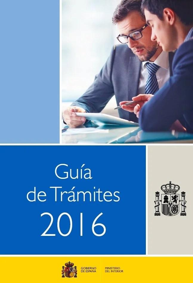 Gu a de tr mites ministerio del interior 2016 blog for Ministerio del interior llamados 2016