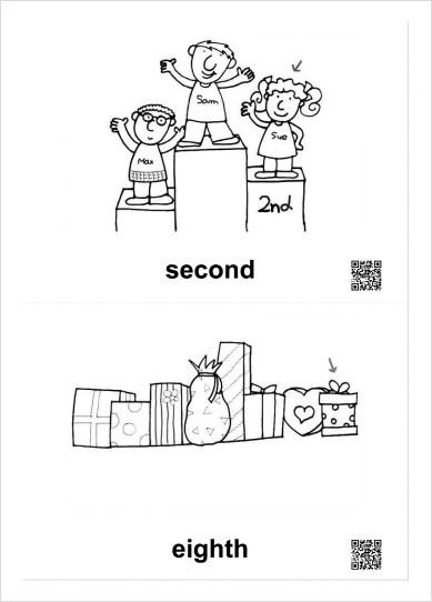 영어 서수표현 낱말카드 : 네이버 블로그