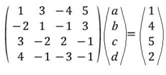 행렬 제대로 공부하기 (행렬의 정의, 행렬의 곱셈, 일차변환, 역행렬. 연립방정식 그리고..행렬은 무엇을