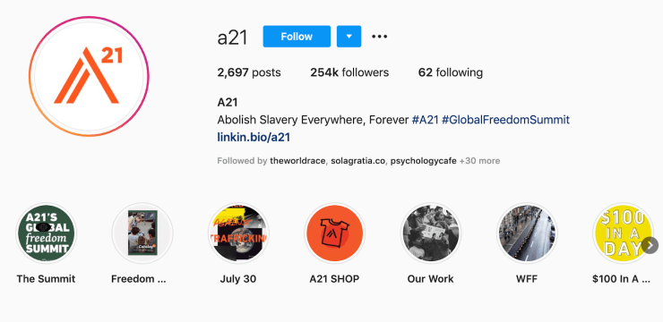 nonprofit instagram strategy