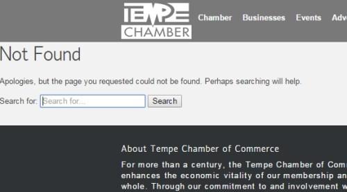 tempe chamber
