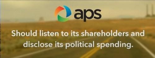 aps protest