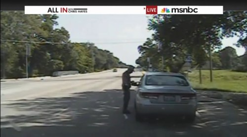 Sandra Bland arrest screenshot