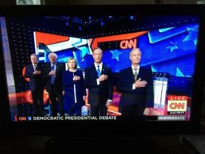 Democratic Party debate.