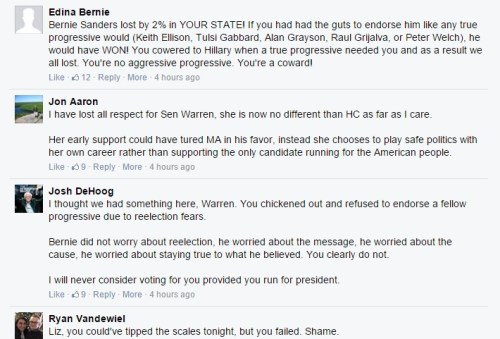 warren more fb posts