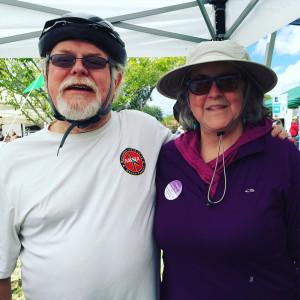 Congressman Ron Barber and Pamela Powers Hannley