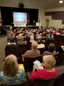 400 Democratic primary voters turned out at the candidate forum at Rincon High School.