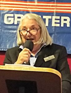 "Congressional candidate Barbara Sherry opposed expansion of Davis Monthan airbase becuase of ""the chemtrails."""