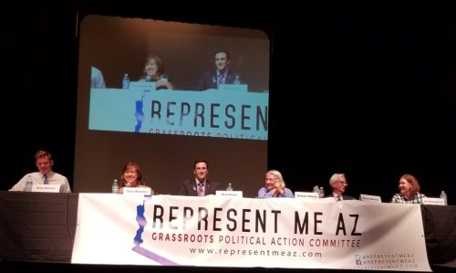 Candidates Billy Kovacs, Mary Matiella, Matt Heinz, Barbara Sherry, Bruce Wheeler, and Ann Kirkpatrick.