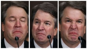 Brett Kavanaugh cried, shouted and pouted at his hearing before the Senate Judiciary Committee.