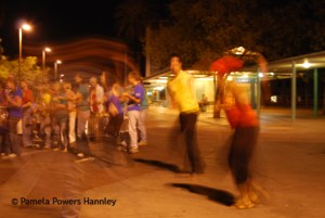 Dancers at Ronstadt Transit Center