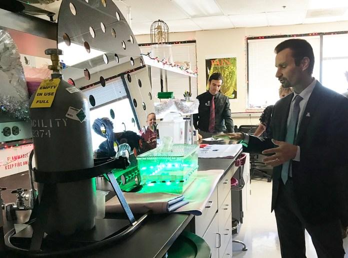 UA College of Medicine research lab