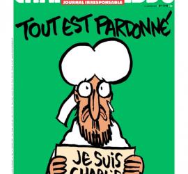 La prima pagina del numero 1178 di Charlie Hebdo
