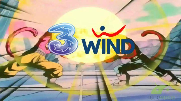 fusione wind e tre