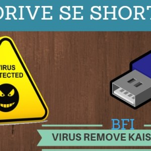 pendrive shortcut virus