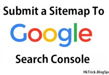 Submit a Sitemap To Google Search Console