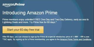 Amazon Prime Free 60 Days Free Trial