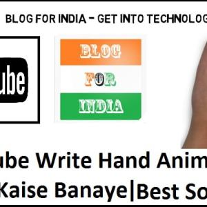 write hand animation video