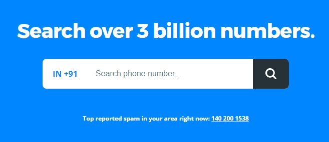 Search Mobile Number