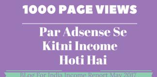 1000 VIEWS Se Kitni Income Hoti Hai