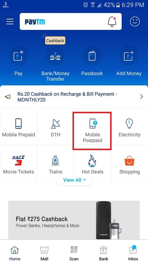 mobile postpaid