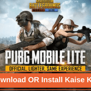 PUBG Mobile Lite Download Install Kaise Kare