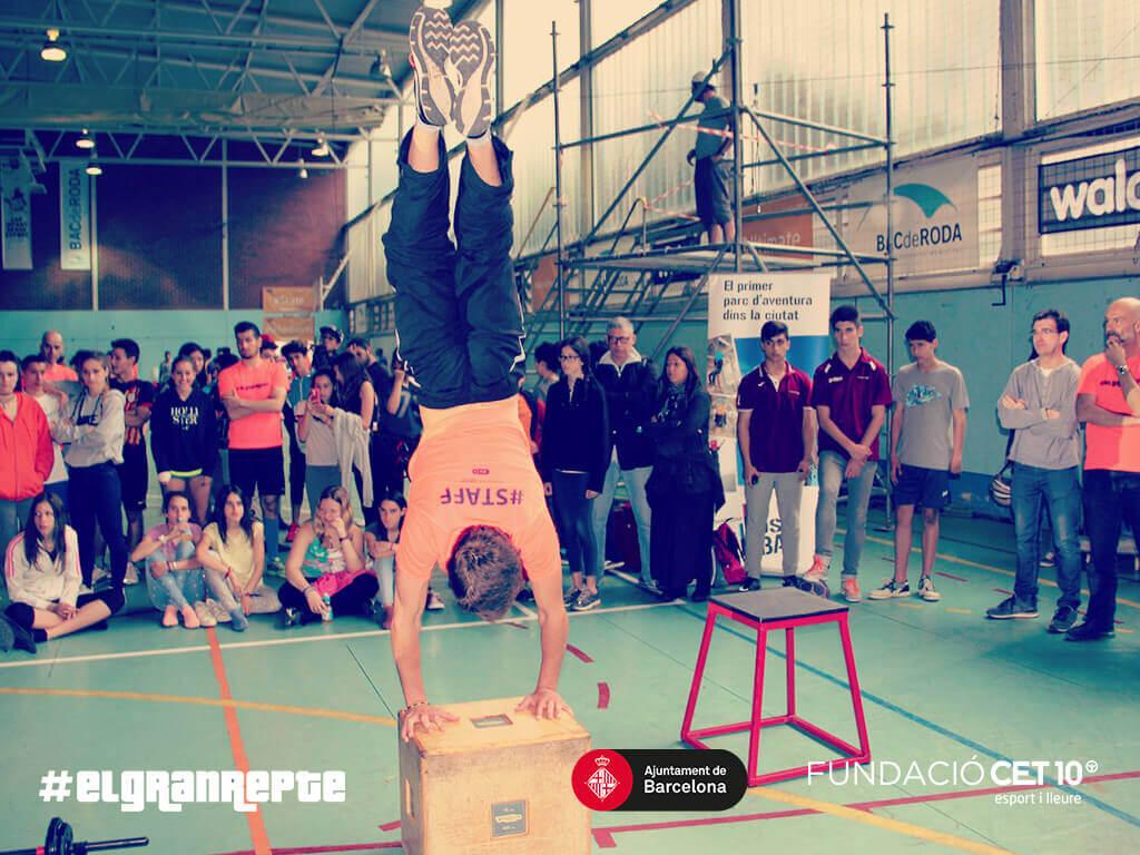 Street Workout - El Gran Repte - Fundació CET10