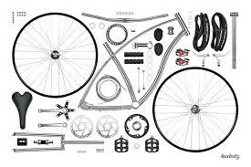 Budnitz Bicycles, Model nº1 (93 componentes)