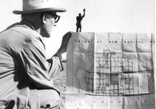 Le Corbusier Chandigarh. Pierre Jeanneret
