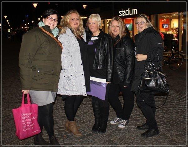 Emma, Fnulan, Therese, Meekatt och jag