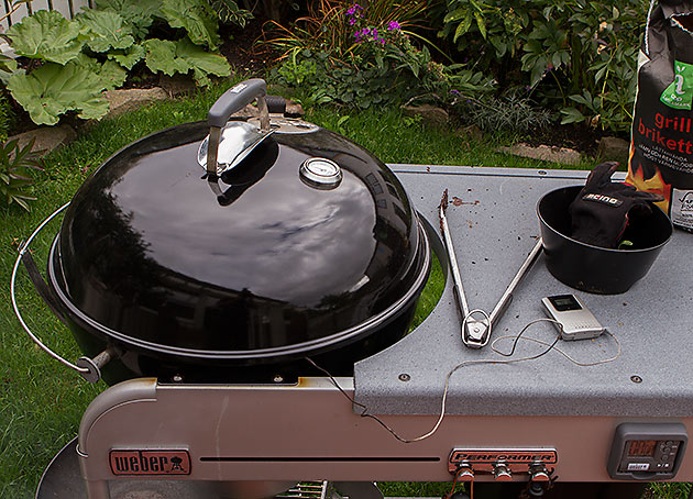 The mighty Weber grill