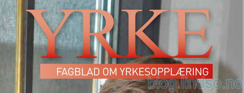Intervju i fagbladet Yrke om samarbeid skole-næringsliv