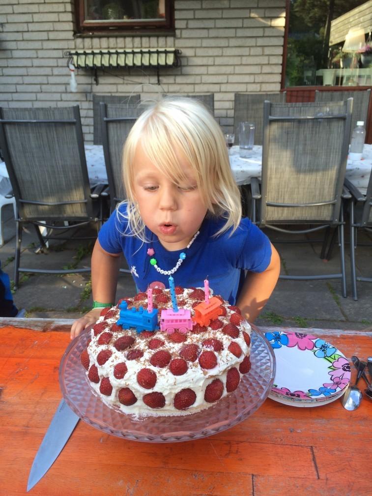 tre år tårta jamie