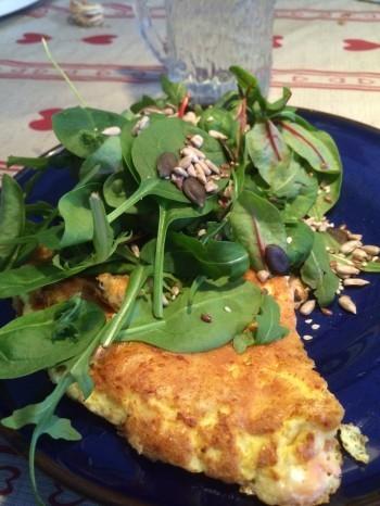 omelett lax