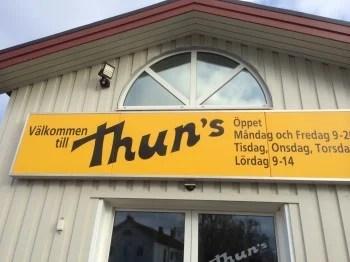 Thuns