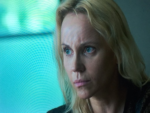"Sofia Helin plays Saga Noren in ""bridge""."