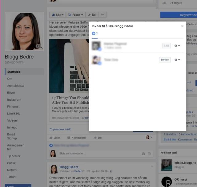 Likes, kommentarer og delinger er engasjement. Og engasjement er det beste Facebook vet! Engasjement gir bedre rekkevidde på Facebook.