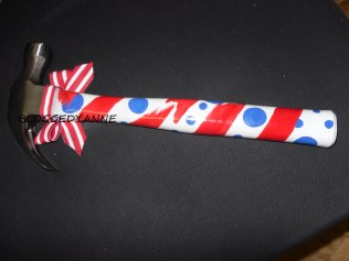 Created for a young bride of an active duty soldier