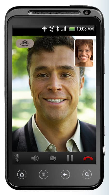 Vonage mobile video call