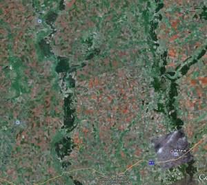 Распахано 90% территории Украины.