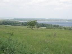 Вид на Днепр в районе Светловодска