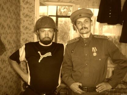 """Фронтовое фото: """"Братья по оружию"""". А сразу и не скажешь, что подделка..."""