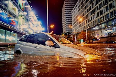 Flooding in Kiev 2018