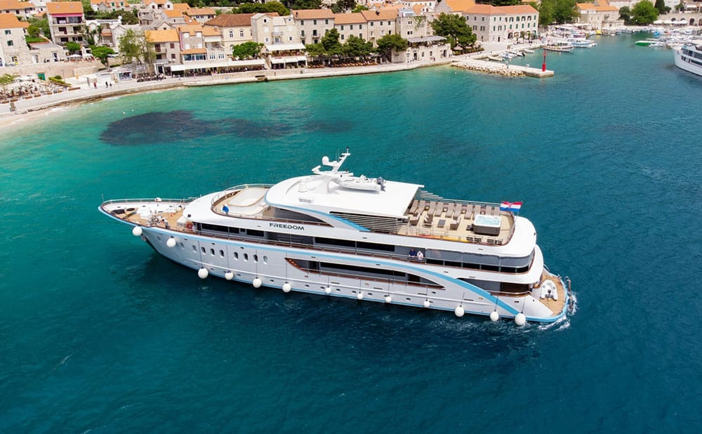 MS Freedom luxury ship, Croatia cruise