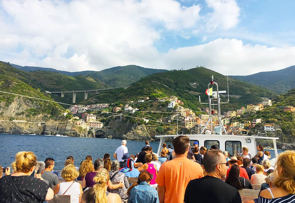 Cinque terre by ferry