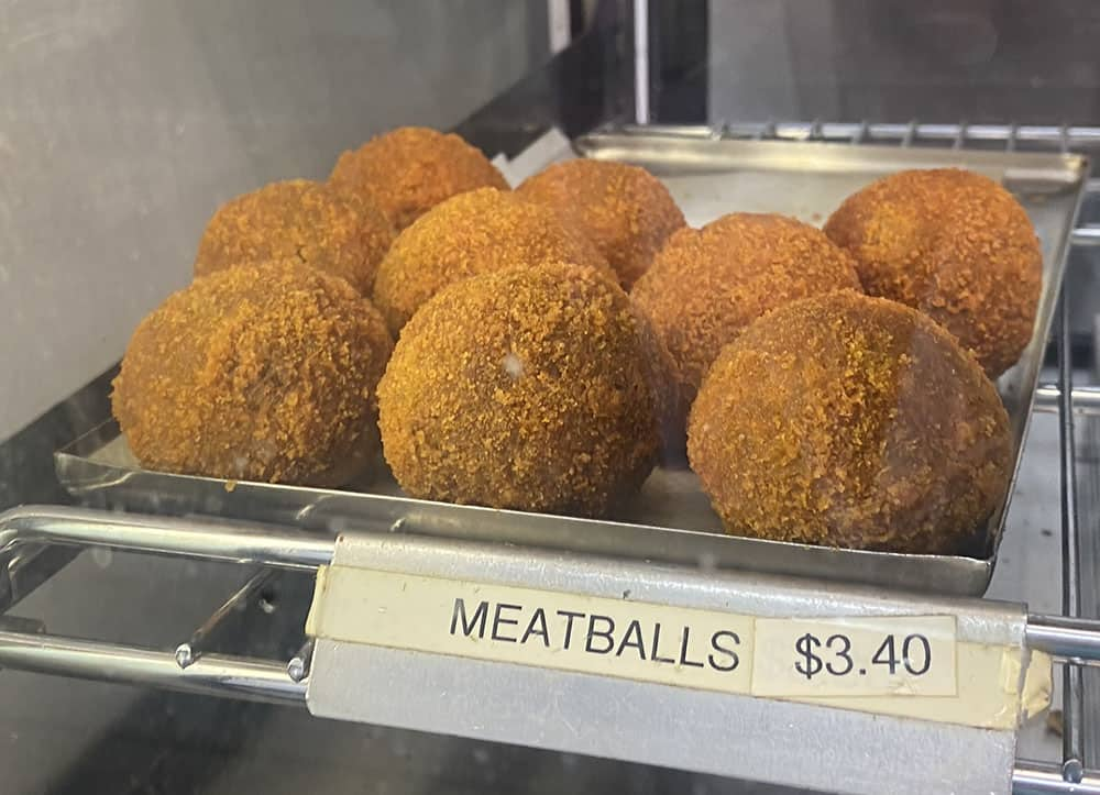 Jacksons meatballs Havelock North