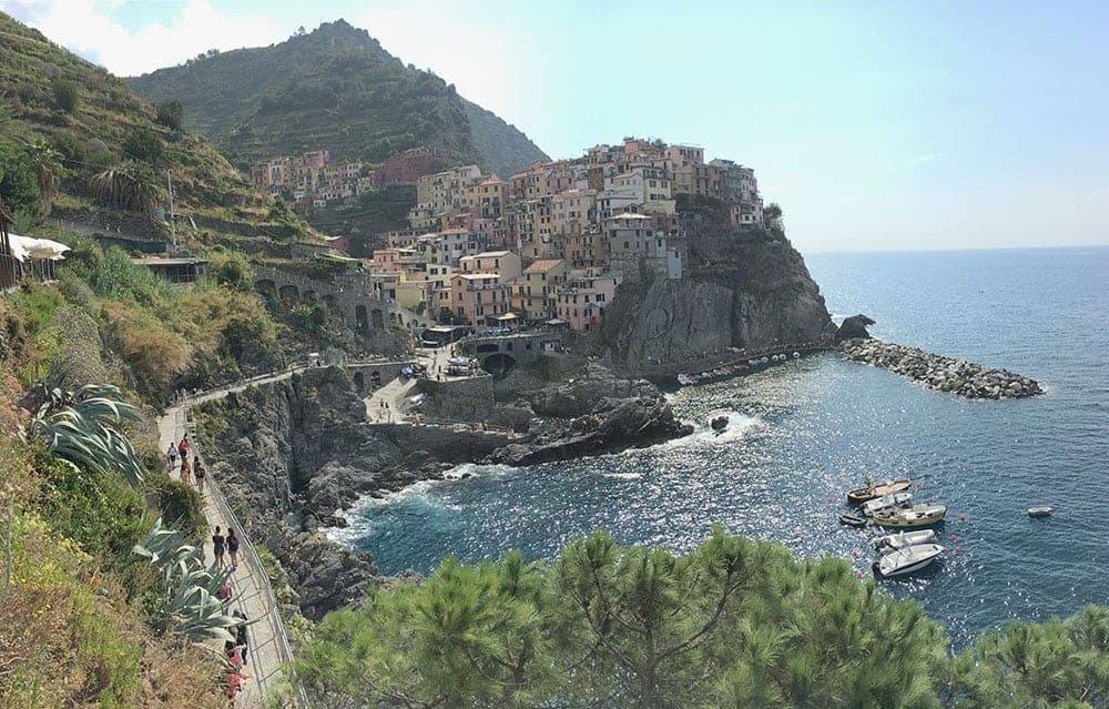 Manarola no filter image