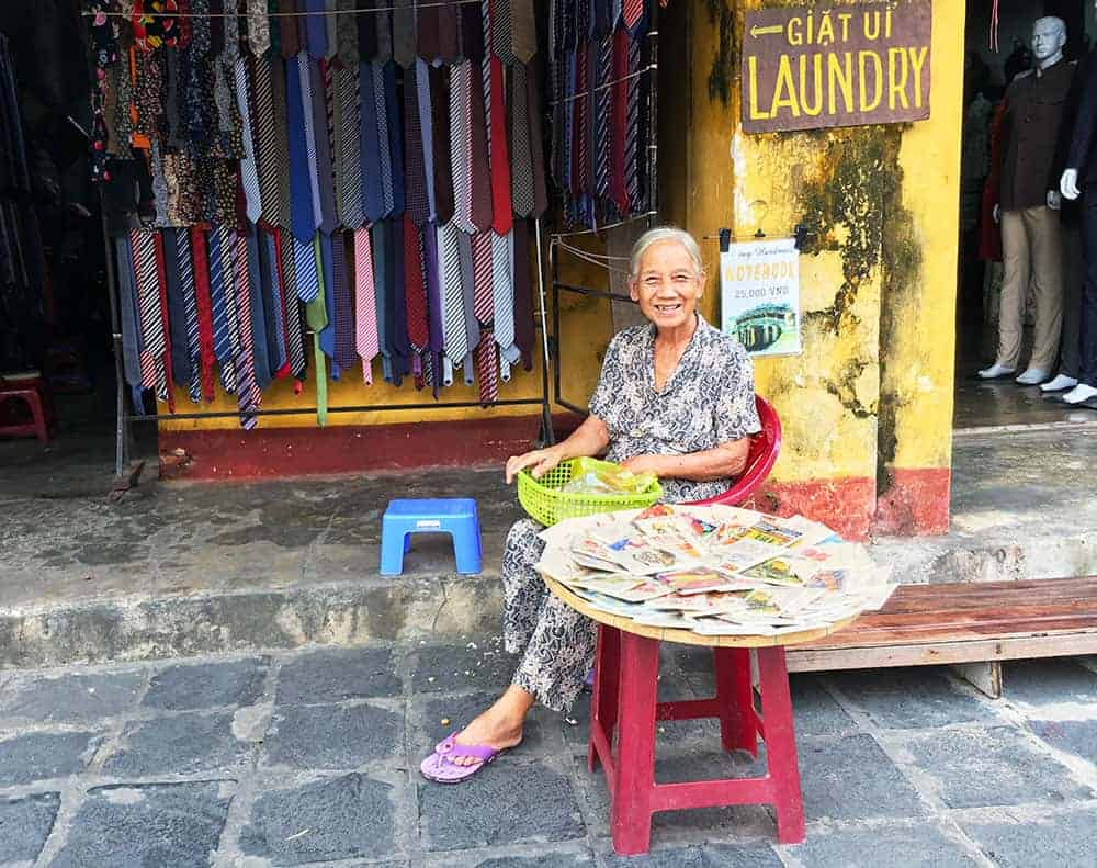 Lady in Vietnam