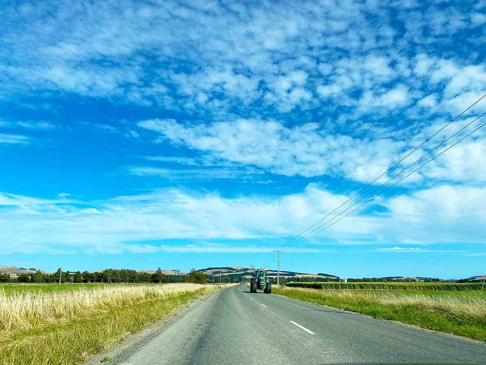 Road and sky photo