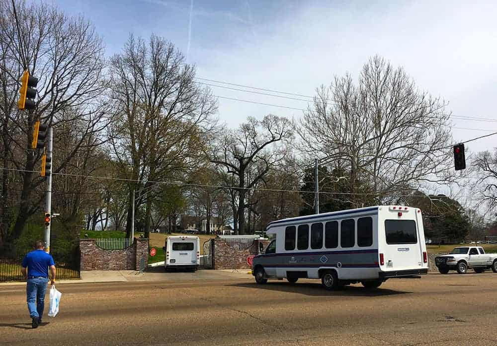 Graceland tour buses
